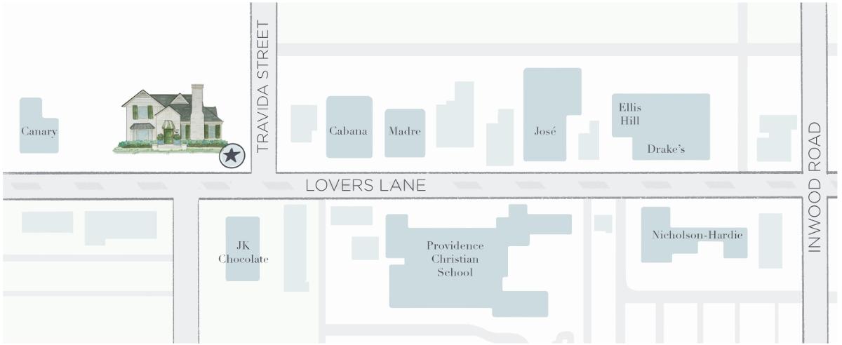 Full Width Studio Location Map