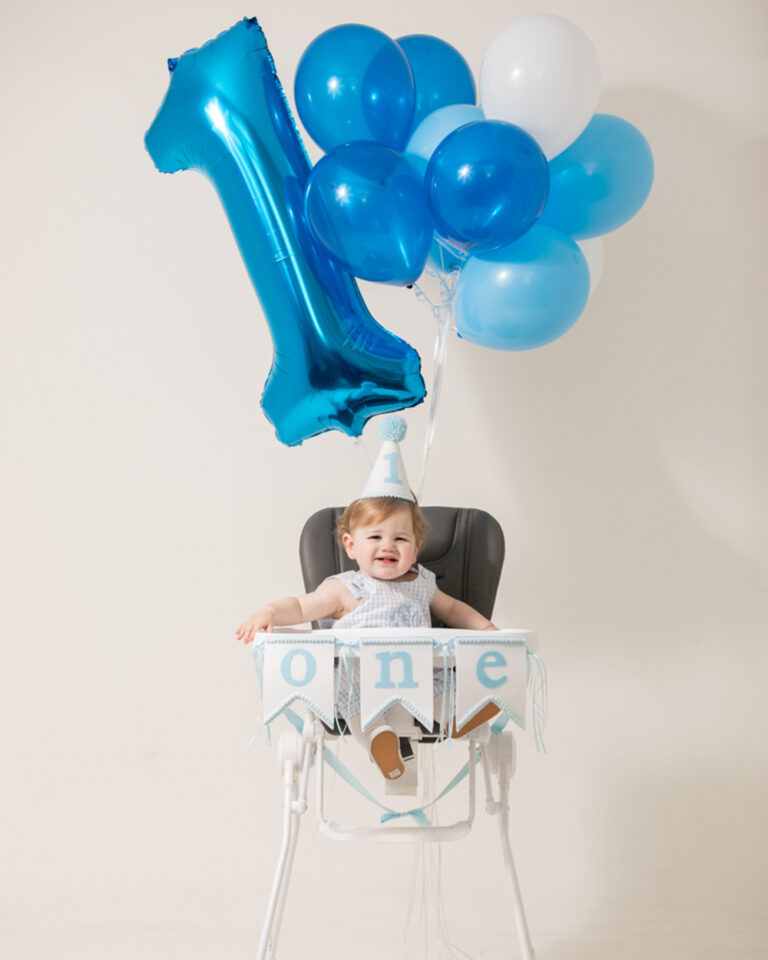A First Birthday in the Studio